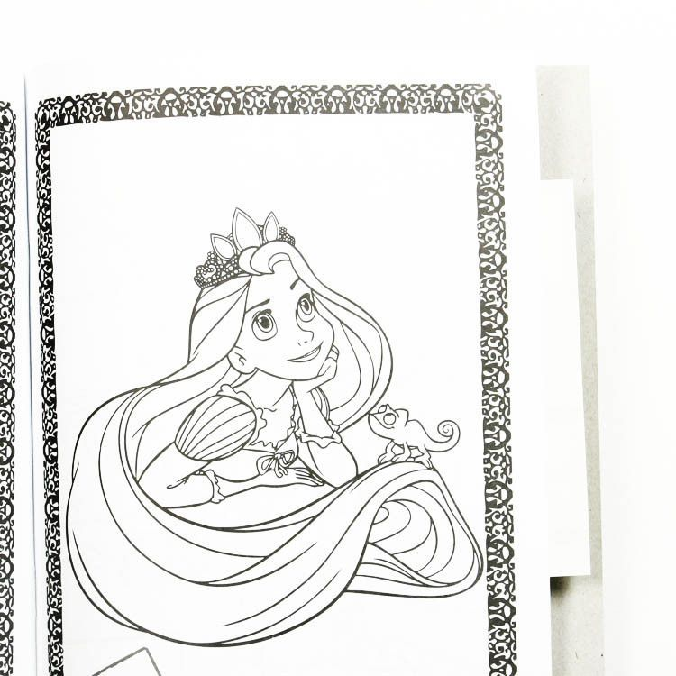 - Russian Books: Tangled Coloring Book - The Russian Store