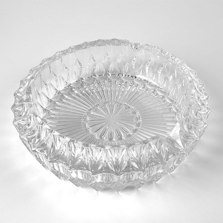 Crystal Vases And Bowls Large Vintage Crystal Ashtray The Russian