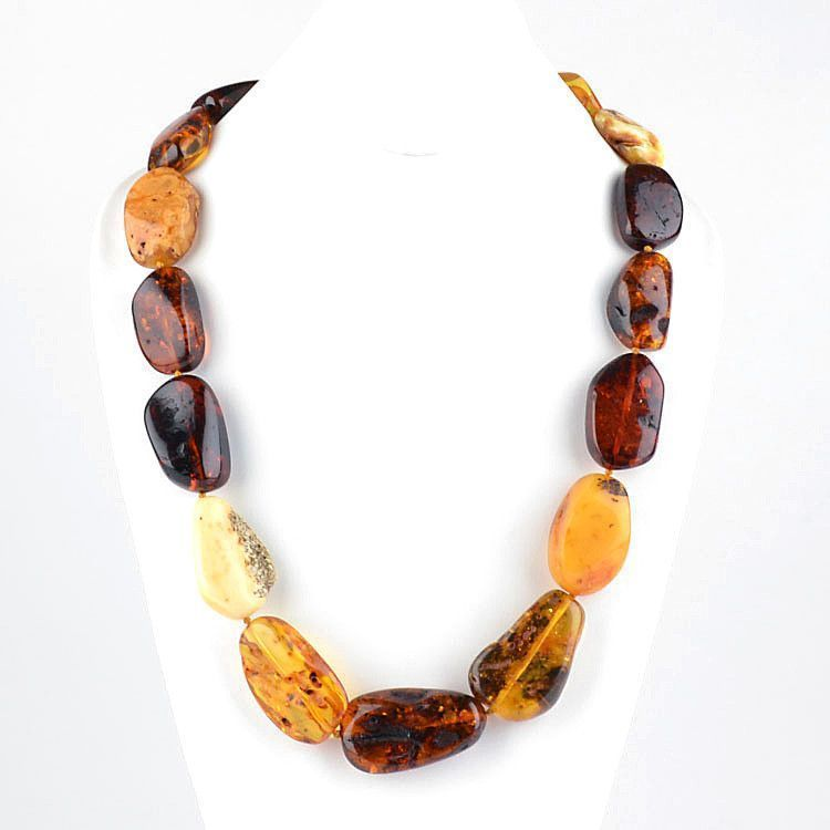 Majestic 26 Inches Amber Necklace