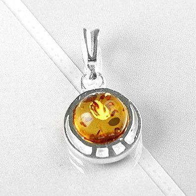 Honey Amber Pendant