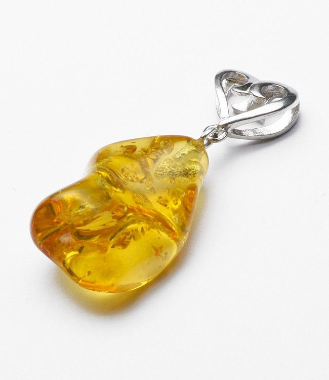 Loving Honey Amber Pendant