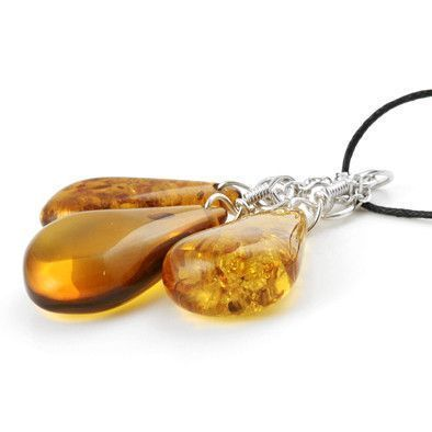 Sweet Honey Amber Necklace