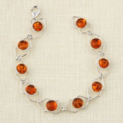 Baltic Honey Amber Bracelet