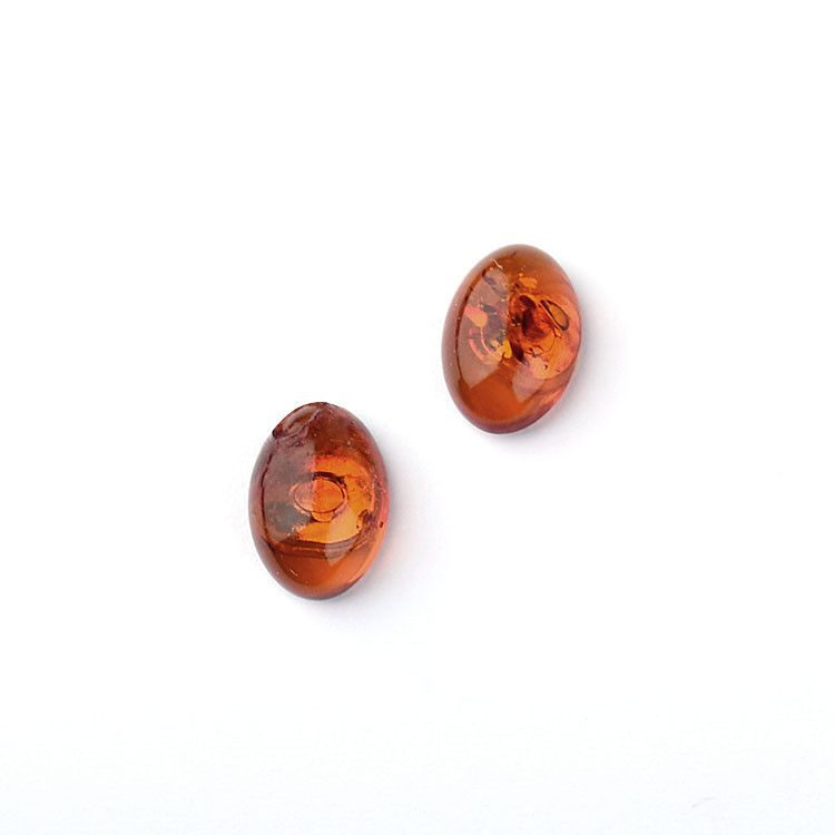 Perfect Amber Stud Earrings