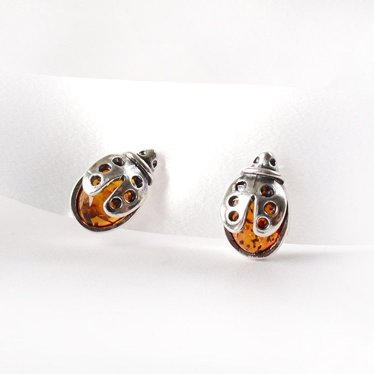 Lucky Ladybug Earrings