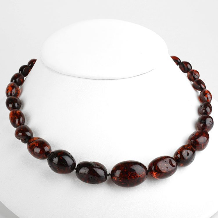 Genuine Cherry Amber Necklace