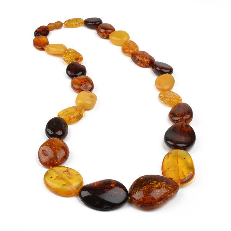 Bold and Beautiful Real Amber Necklace