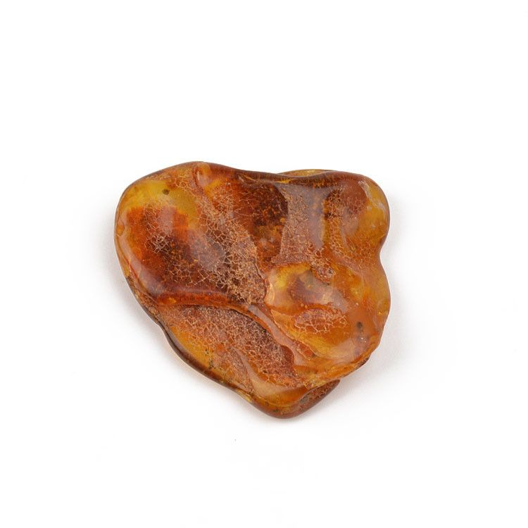 Genuine Amber Stone With Inclusions
