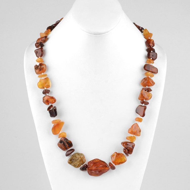 "Natural Nuggets 24"" Necklace"