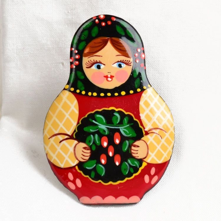 Berries Nesting Doll Pin
