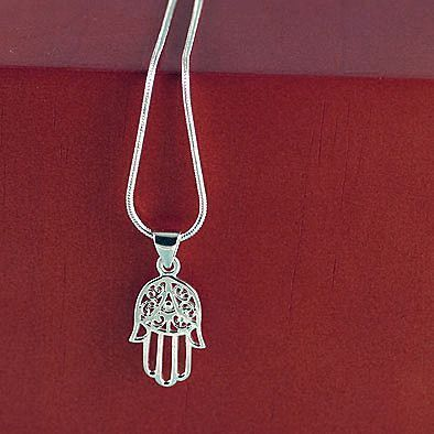 Hand of God Hamsa Pendant