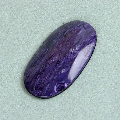 Long Oval Charoite Cabochon
