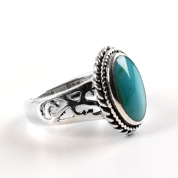Comfortable Turquoise Ring