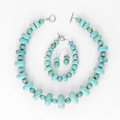 Natural Turquoise Set