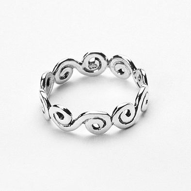 Celtic Knotwork Sterling Silver Ring