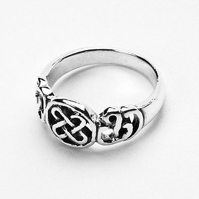 Celtic Symbol Silver Ring