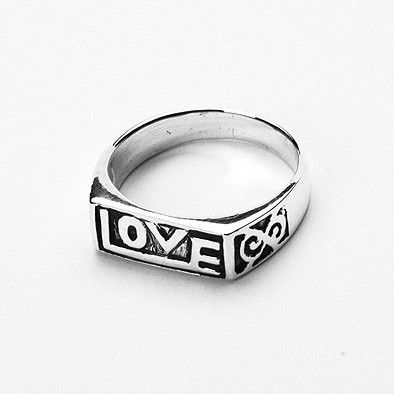 Eternal Love Sterling Silver Ring