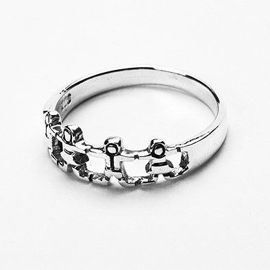Unity Sterling Silver Ring