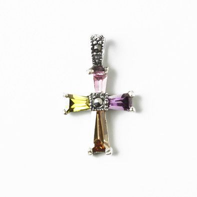 Small Sparkling Cross Pendant