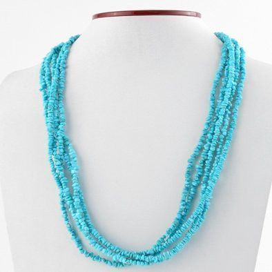 Blue Turquoise Layers Necklace