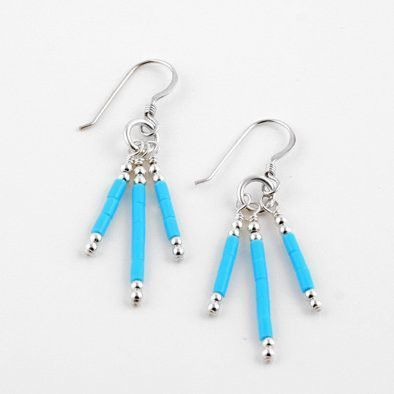 Unique Turquoise Earrings