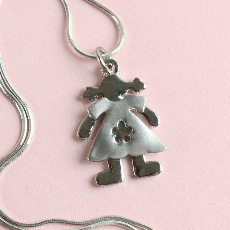 Little Girl Fashion Pendant