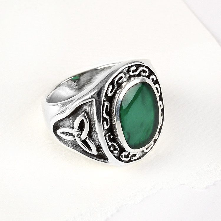 Mens Celtic Ring