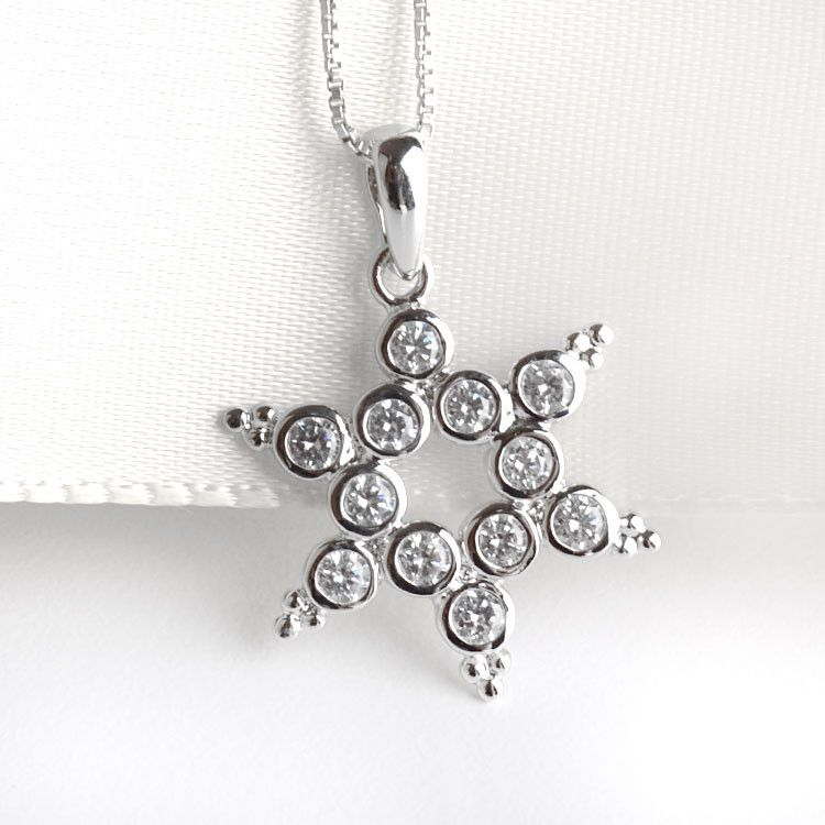 Unique Star of David Pendant
