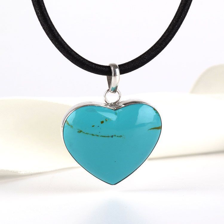 Heart of Turquoise Pendant