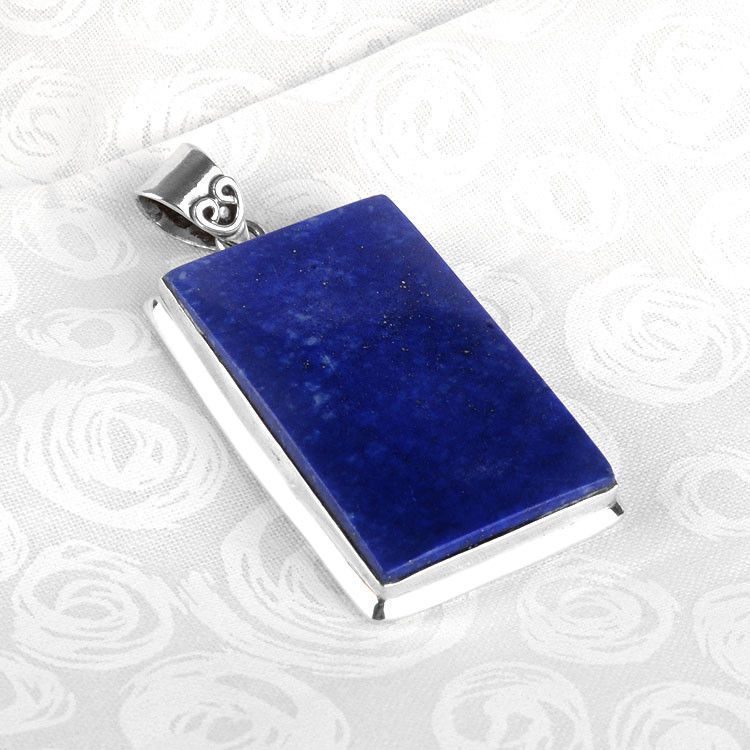 Lapis Lazuli Rectangle Pendant