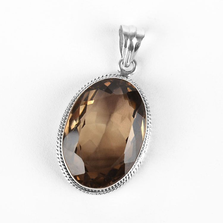 Outstanding Smokey Quartz Pendant
