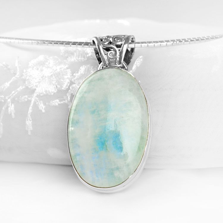 Green Moonstone Pendant