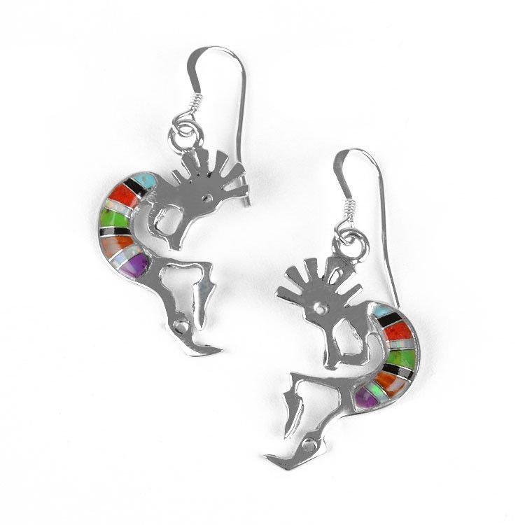 Southwestern Kokopelli Earrings