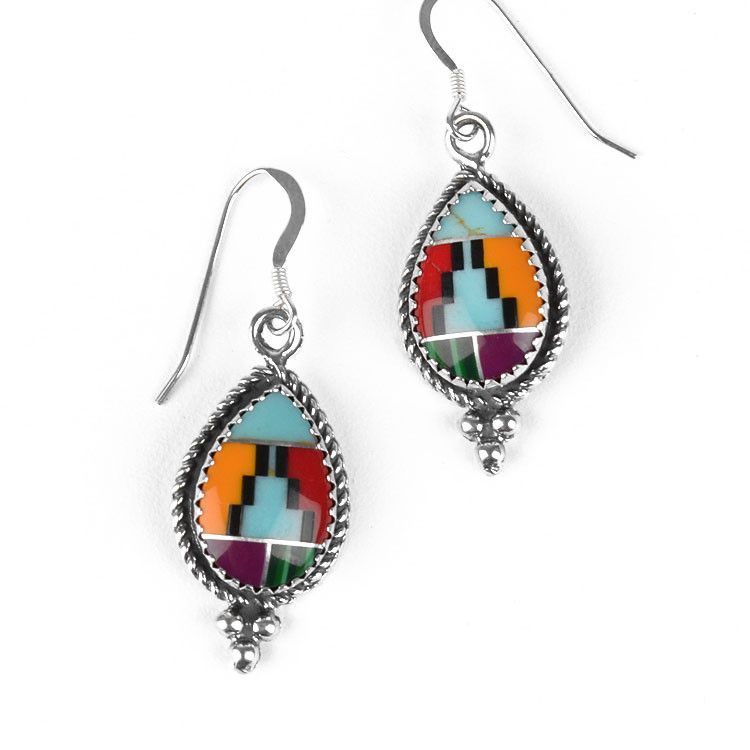 Southwest Style Gemstone Earrings