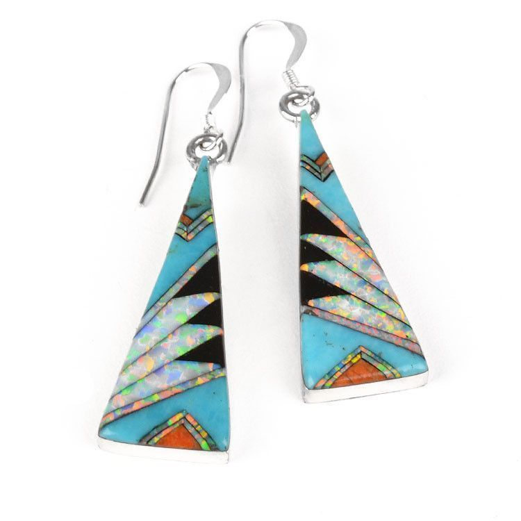 Mosaic Southwest Gemstone Earrings