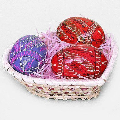 Russian Pisanki Easter Eggs
