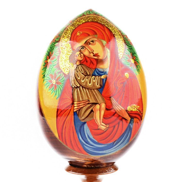 Christmas Blessed Virgin Mary Egg