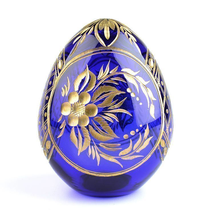 Floral Design Crystal Egg