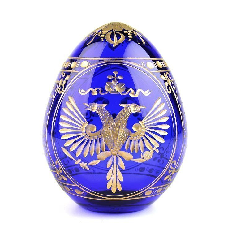 Blue Russian Crystal Egg