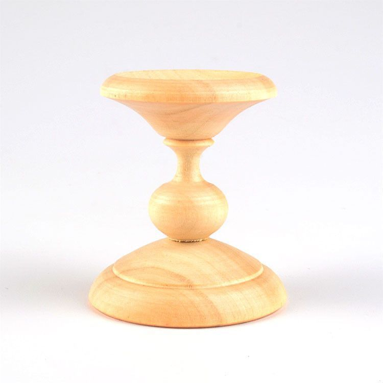 Natural Wooden Egg Stand