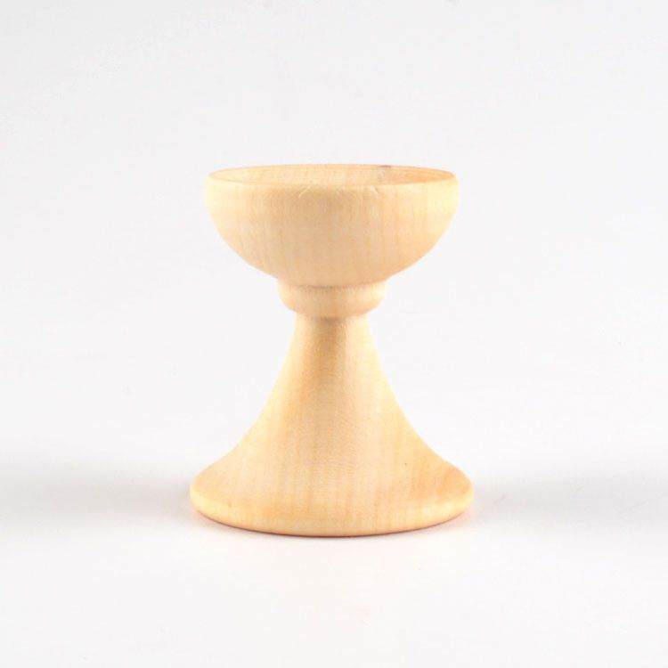Small Wooden Egg Stand