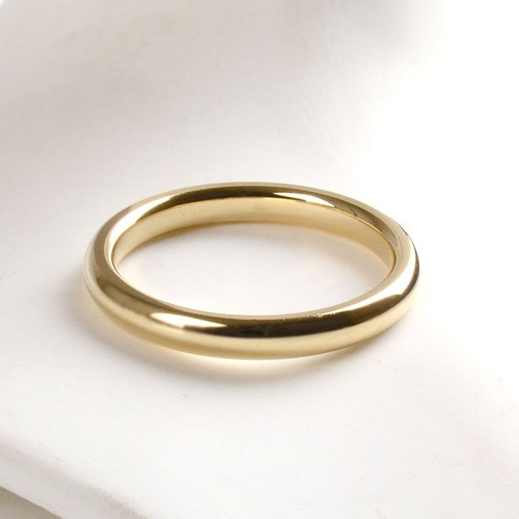 3 mm Band Ring - 14K Gold