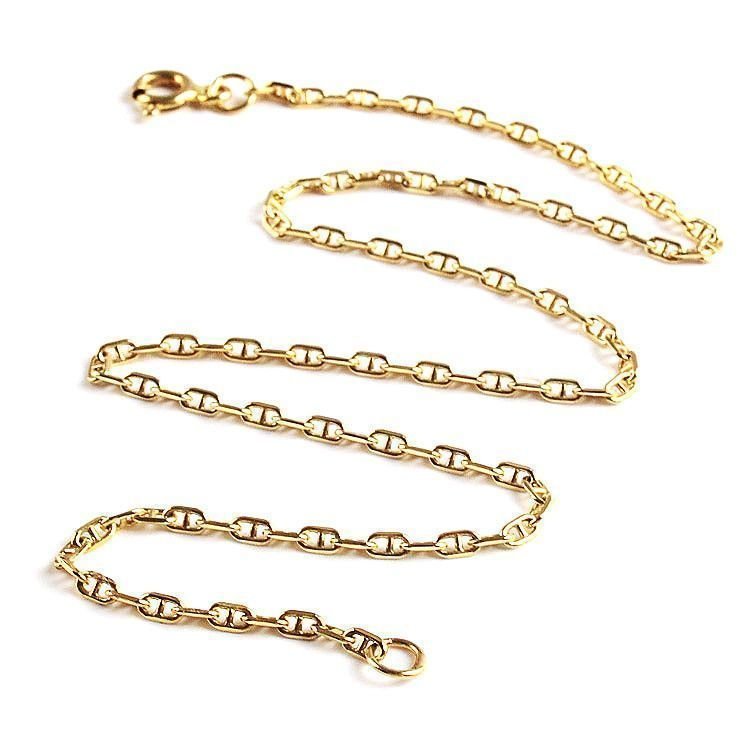 14K Gold Anklet Chain