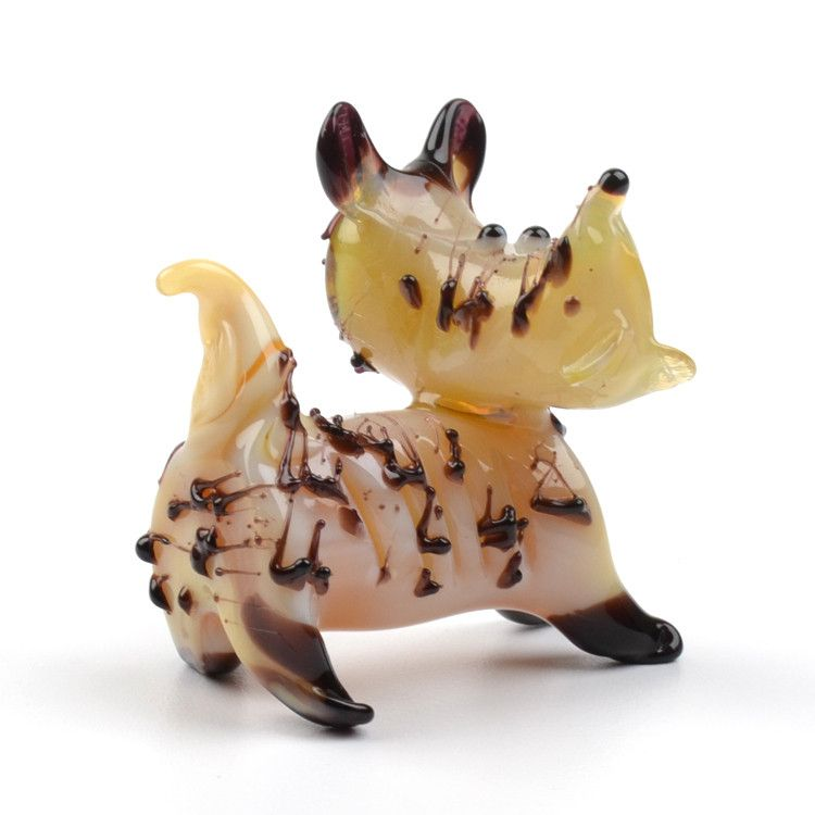 Cute Scottish Terrier Glass Figurine