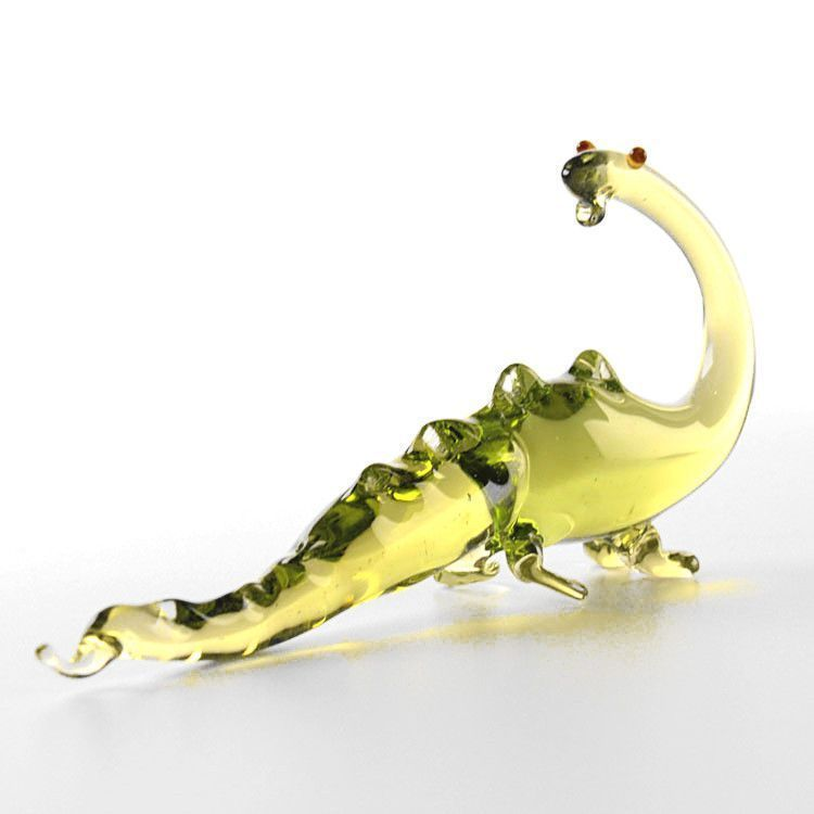Dinosaur Glass Figurine