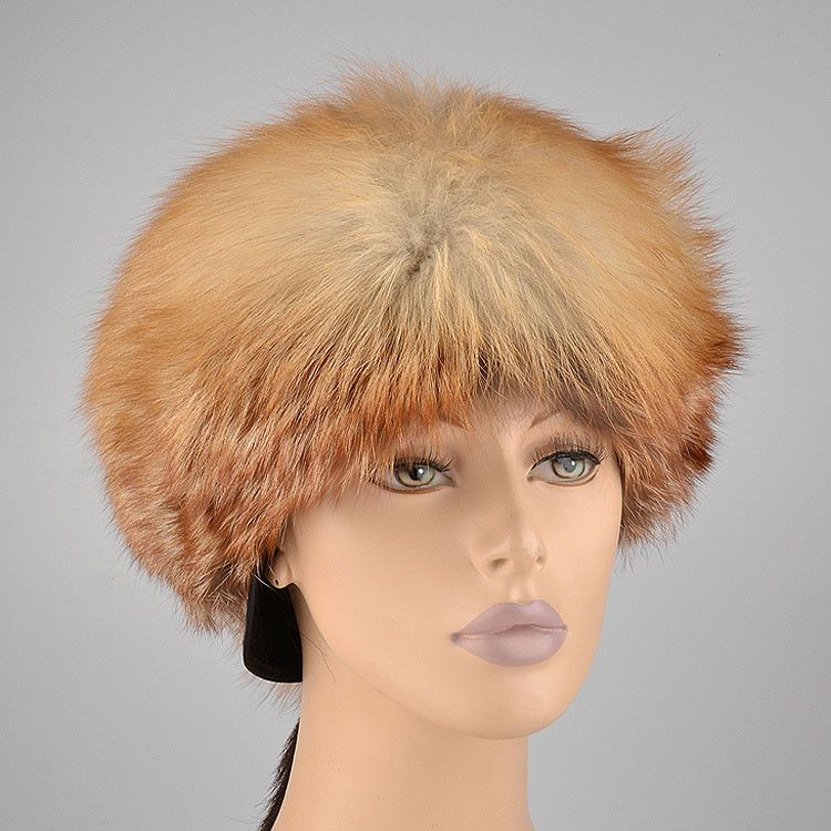 Russian Red Fox Woman's Hat
