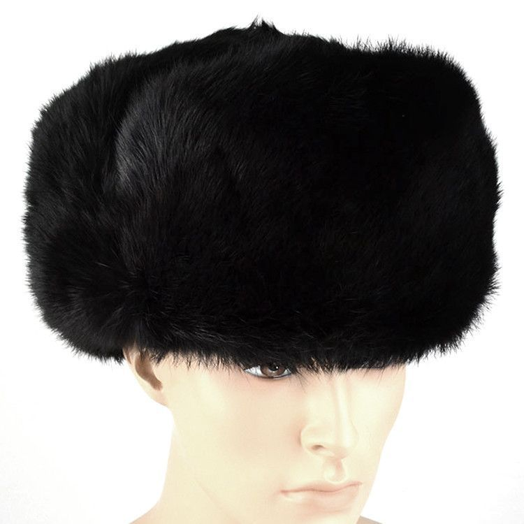 Real Hare/Rabbit Fur Russian Hat Shapka
