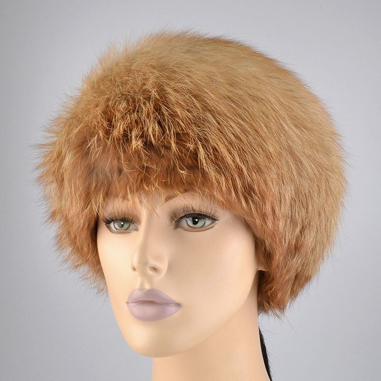 Russian Red Fox Fur Hat