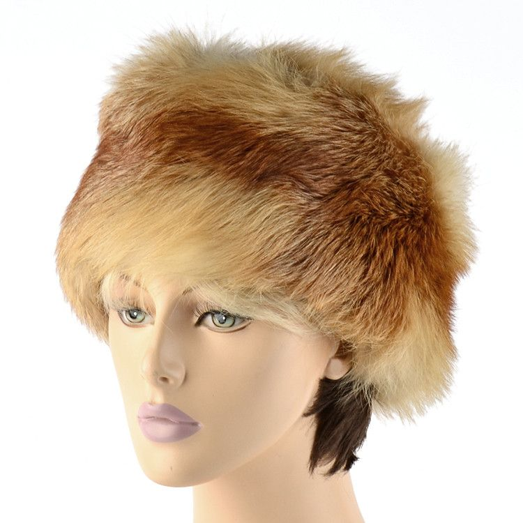 Women's Red Fox Kubanka Style Hat