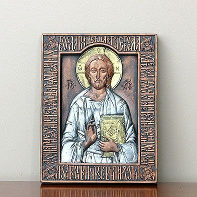 Hand Molded Ceramic Icon
